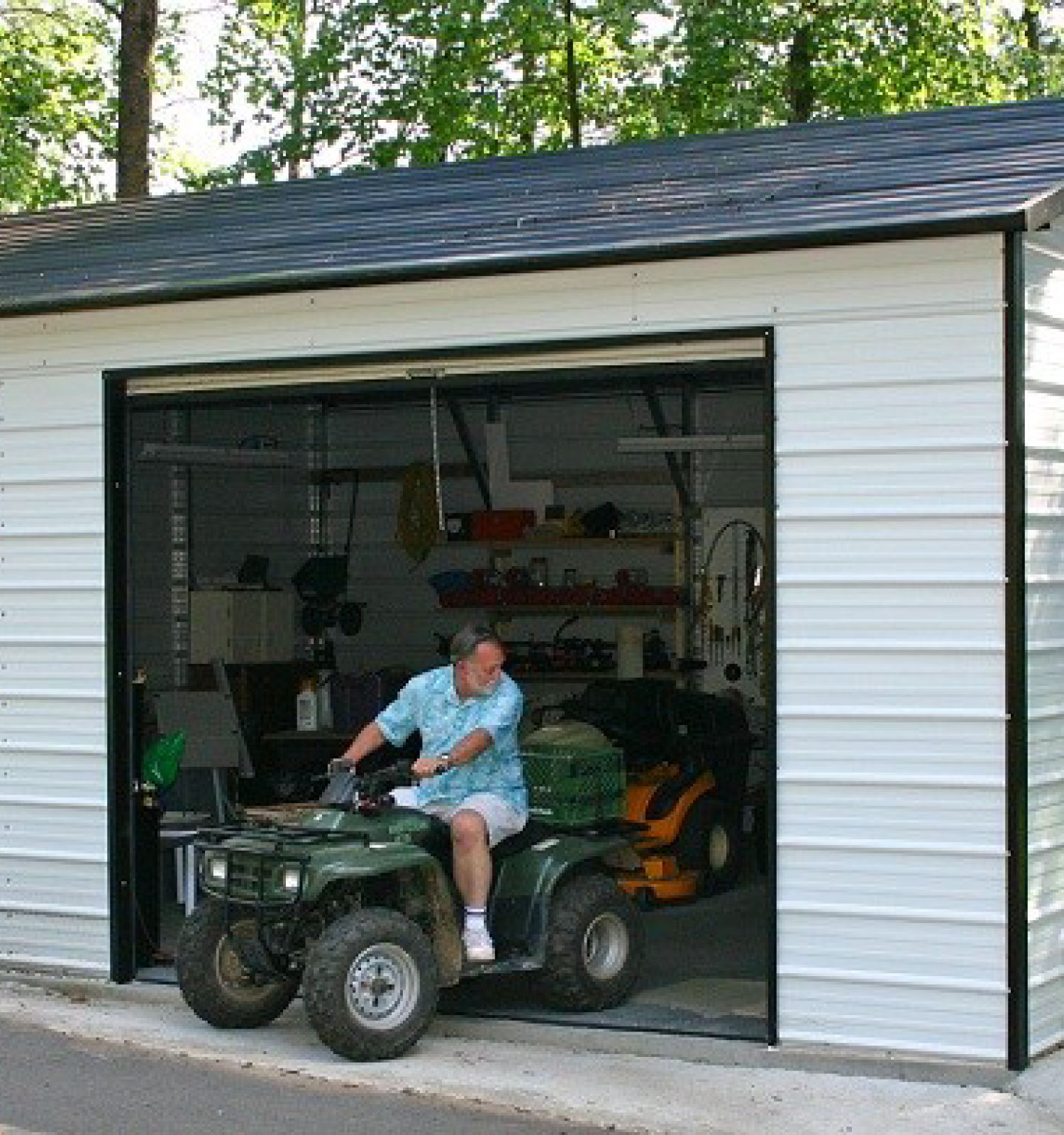 We Finally Finished The Rv Carport: Portable Building Sales