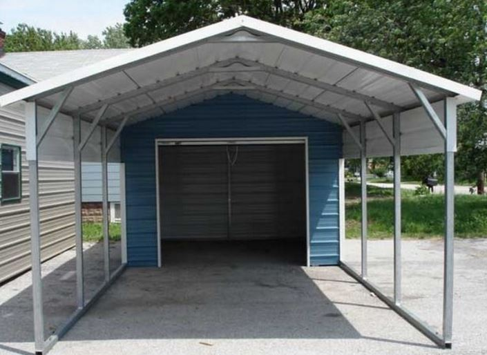 Advantages of a carport vs garage new deal metal buildings for Carport construction costs